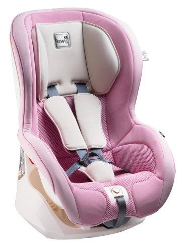 [Amazon.it] Kiwy Kinderautositz, Gruppe 1, 9/18 Kg, SP1 Universal, mit SA-ATS in rosa
