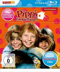 [Amazon.de(Prime)] Pippi Langstrumpf TV-Serie Blu-ray Box - Sammler-Edition 19,58