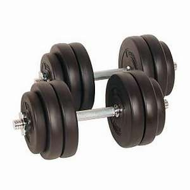 Kurzhantel Set 30kg -Metall für 28,95