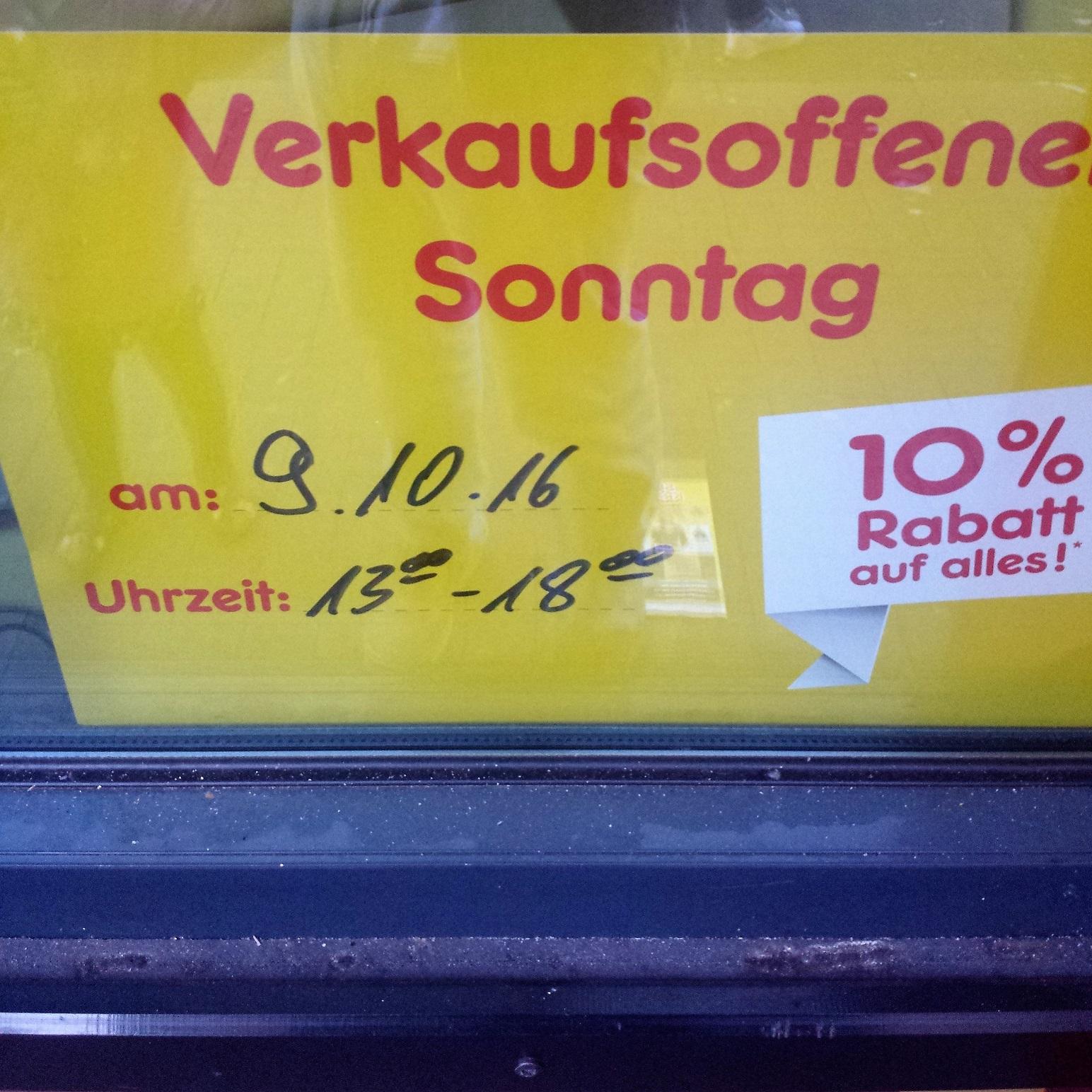 Mönchengladbach - 10% auf alles bei NETTO Lüpertzenderstr. am Sonntag
