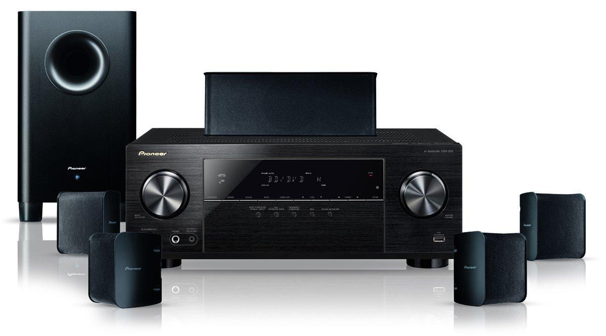 "Pioneer™ - 5.1 Heimkinosystem ""HTP-206"" (5x130W,4K UHD-ready,Bluetooth,Dolby TrueHD,5.1 Lautsprechersystem) für €366.- [@Media-Markt Kiel/Rendsburg]"