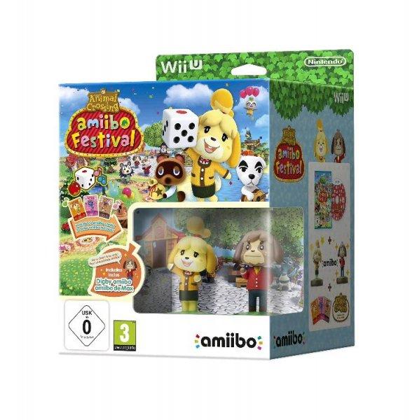 Amazon Prime Wii U: Animal Crossing Amiibo Festival + 2 Amiibo-Figuren + 3 Amiibo-Karten