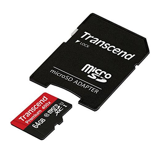 Transcend TS64GUSDU1PE  Premium 400x micro sd  (Amazon Prime)
