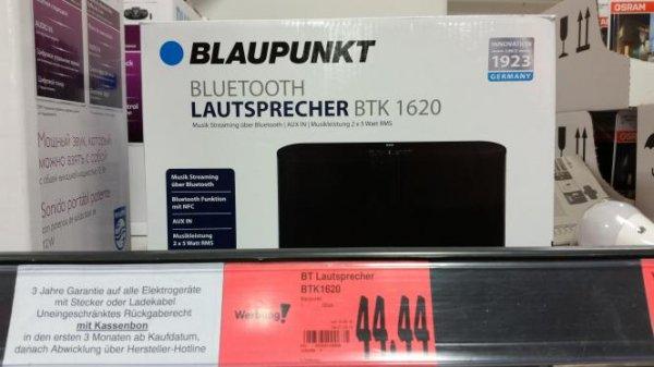 (Lokal Kaufland Delmenhorst) Blaupunkt Bluetooth Lautsprecher nur 44,44€