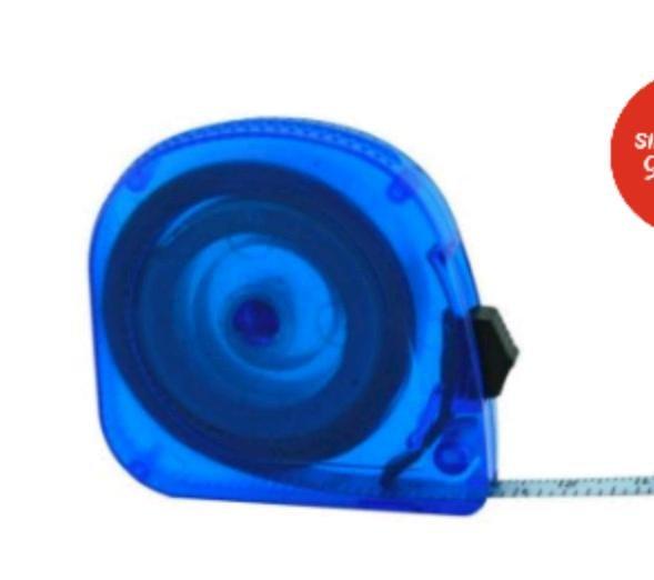 [top12] 3m Maßband in blau