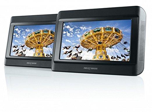 [Amazon] Nextbase Click 9 Lite Duo - DVD-Player 9 Zoll mit 2 Bildschirmen inkl. Auto-Holmhalterung für 129 statt 341 €