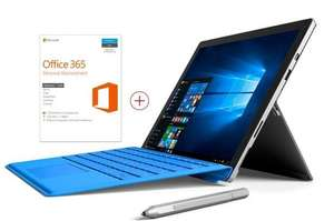[Mediamarkt.de] Microsoft Surface Pro 4 i5 128 GB + Type Cover Wunschfarbe + Office 365 Home + Arc Touch Mouse