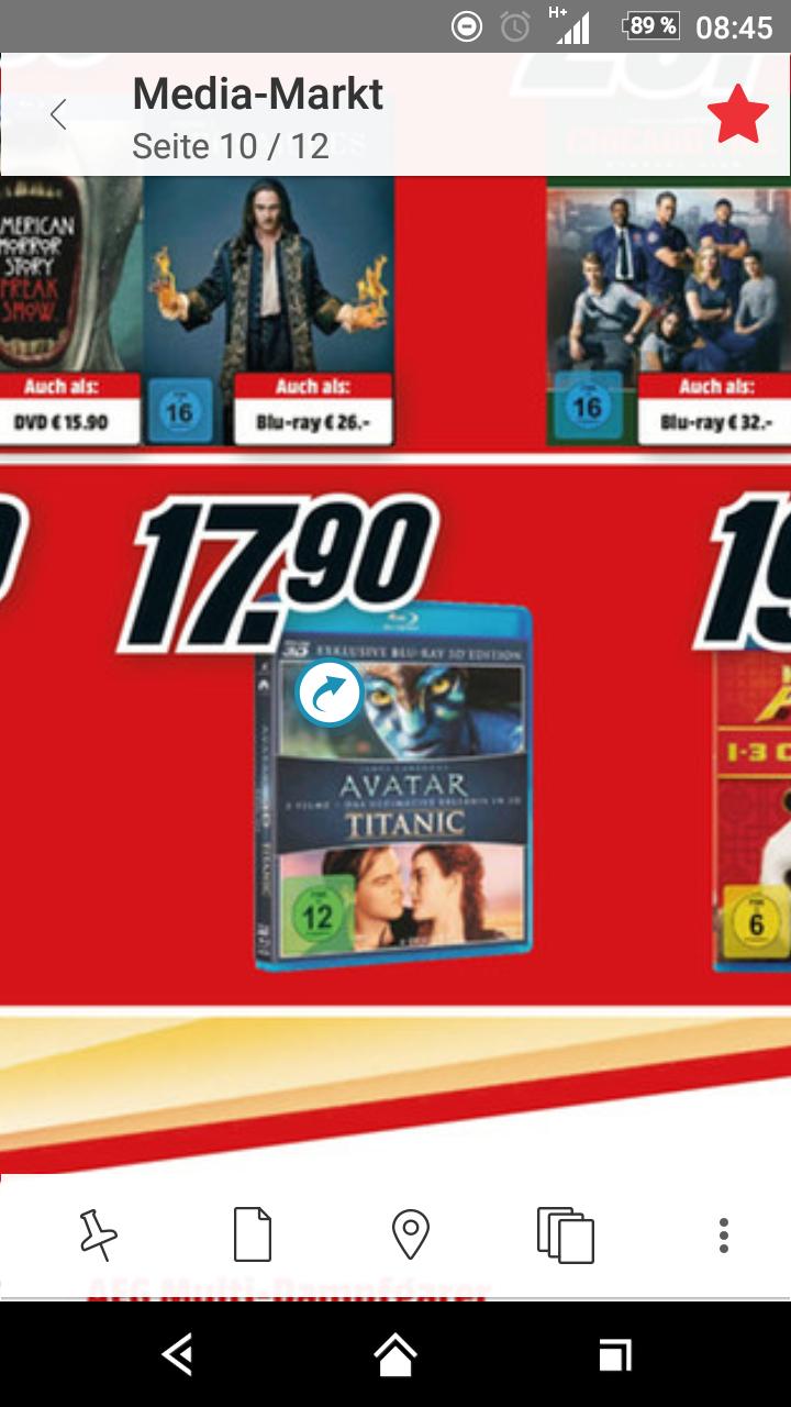 Avatar & Titanic als 3D Bluray bei MM in Sindelfingen Breuni (lokal?)
