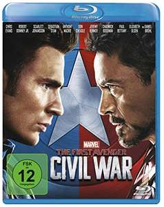 Captain America: Civial War Blu-ray 14,99