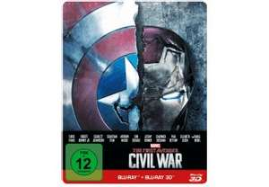Captain America: Civil War Steelbook-Edition 24,99 € bei Saturn