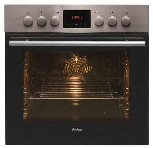 [AMAZON]Amica EHC 12550 E Herd-Kochfeld-Kombination / A / 0.95 kWh / 66 L / Steam Clean Reinigungsfunktion durch Wasserdampf / Timer(sensorengesteuert) für 9 Beheizungsarten LED Display / gefalzt, 3D-Effekt [Energieklasse A]