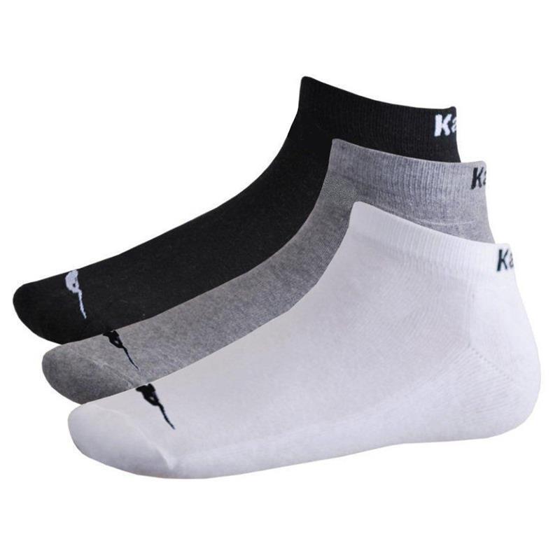 Kappa 12er Pack Sportsocken, Quarter oder Sneaker Schwarz, Weiß, Mix