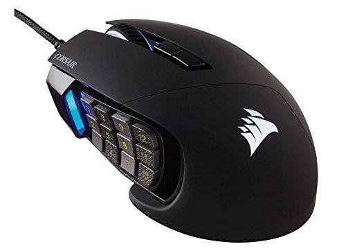 Corsair Scimitar RGB optische Gaming Maus - schwarz für 64,64€ inkl. Versand (Amazon.es)