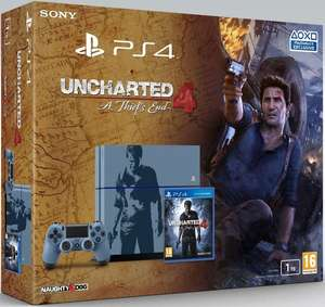 Sony PS4 1TB Limited Uncharted Edition + Uncharted 4: A Thiefs End für 299€ [Amazon]