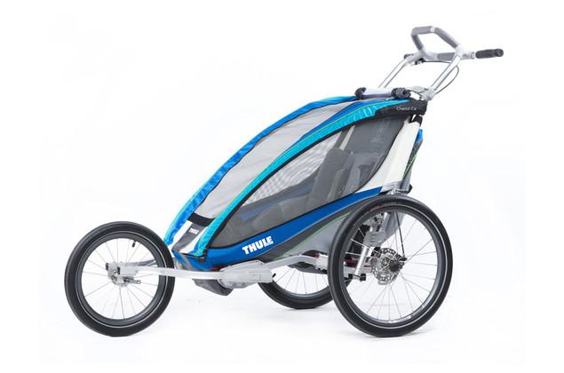 Kinderfahrradanhänger: Thule Chariot CX1 inkl. Fahrradset, Joggingset und Buggyset