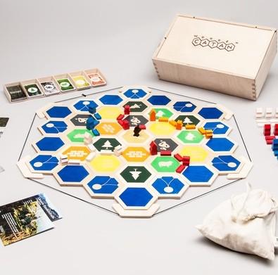 Wooden Catan Brettspiel (Siedler von Catan) [Kickstarter]
