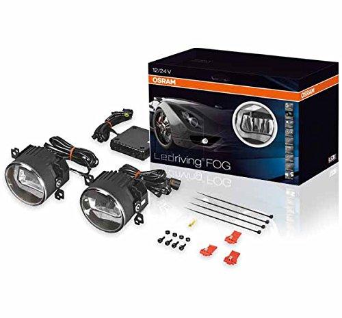 1 Paar Osram LEDriving FOG 101, LED-Nebellicht mit Tagfahrlicht-Funktionalität (OEM) für 153,95 € @ amazon
