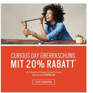 20% bei Fossil