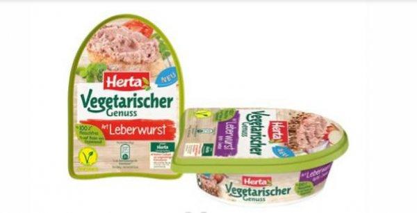 Herta vegetarische Genuss Art Leberwurst GRATIS TESTEN (Scondoo)