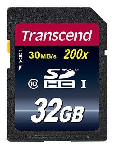 32GB Transcend SDHC Speicherkarte für 9,49 EUR für Prime-Kunden
