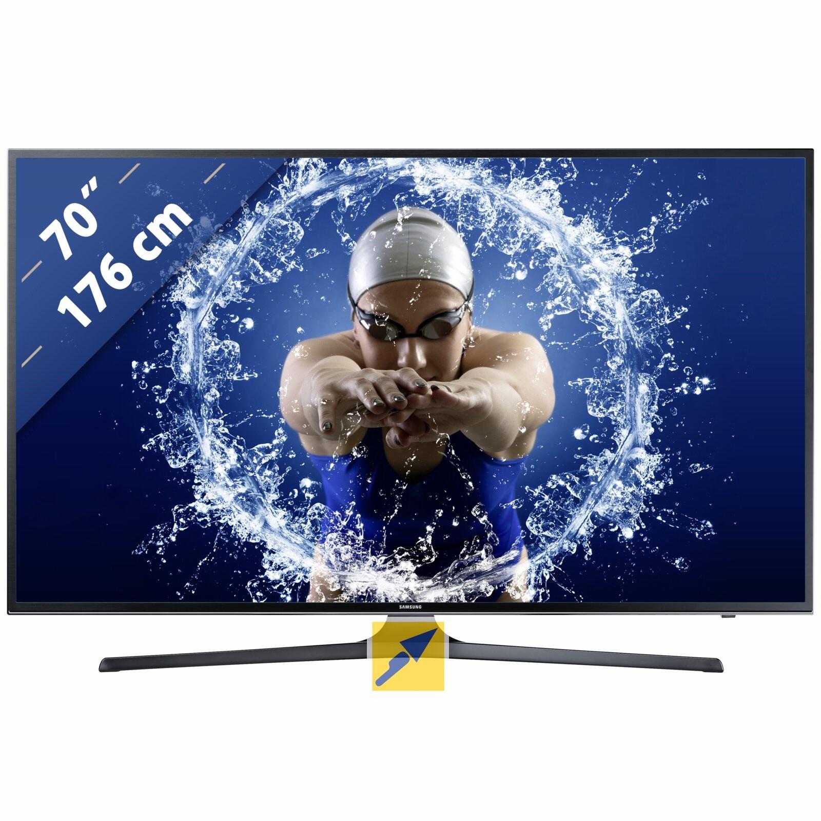 Samsung UE70KU6079 für 1.559,95, billigster Idealopreis 1.769,00!