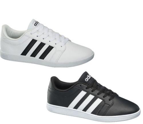 [ebay] adidas neo sneaker in weiß und schwarz wie Baseline