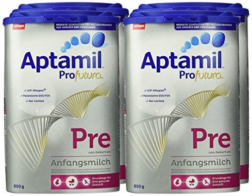 Aptamil Pro Futura Pre oder 1er 4x 800g für 20€ mit [Amazon Prime] statt ca. 75€