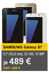Samsung Galaxy S7 32GB in versch. Farben für 489 € @allyouneed