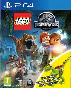 (Base.com) Lego Jurassic World (PS4) + Lego Jurassic World - Dino Trap für 23,14€