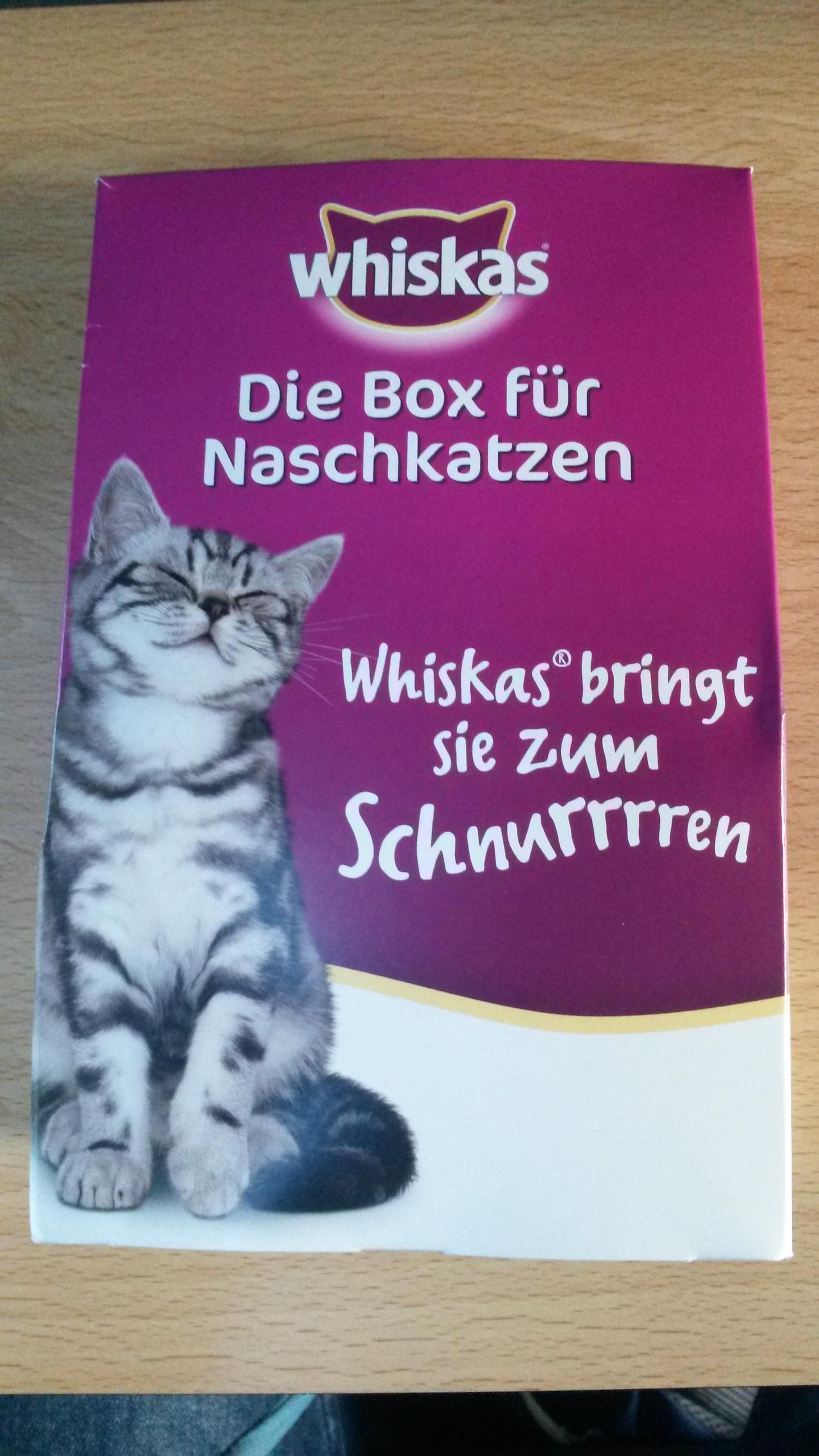 [Dresden Hbf] Whiskas Probierpaket als Freebie (es gibt auch was für Hundebesitzer)