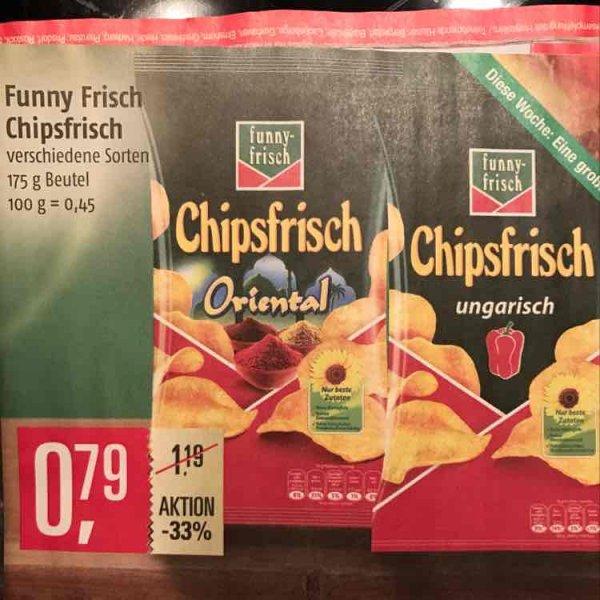 Chipsfrisch von funny-frisch 0,79€ @ Marktkauf