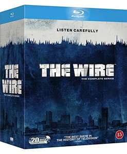 The Wire Blu-ray (The Complete Collection 1-5) UK Import inkl. deutscher Tonspur [Amazon.de]