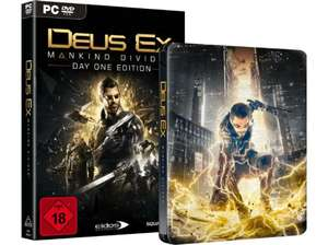 [Media Markt, Abholung]Deus Ex Mankind Divided Day One Edition Steelbook PC für 27,-