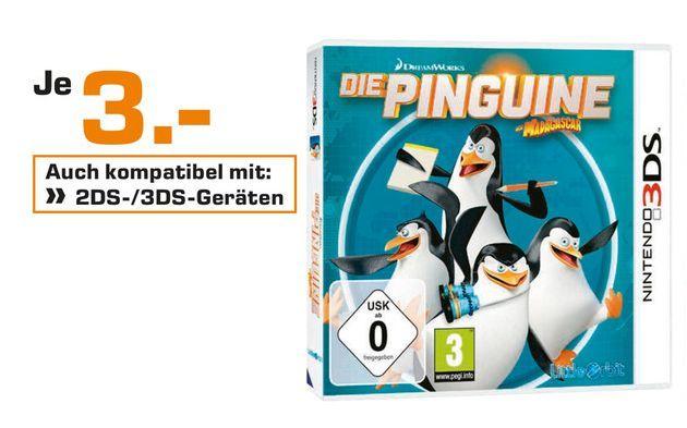 [Lokal Satun Celle/Hildesheim ab 10.10] Verschiedene Nintendo DS Spiele wie zb. Die Sims 2 und 3 oder Die Pinguine aus Madagascar (3DS] für je nur 3,-€