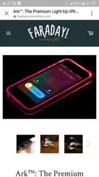 iPhone Hülle LED