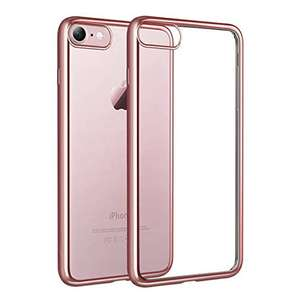 iPhone 7 Crystal Clear Silikon Bumper / Case für 4,99€