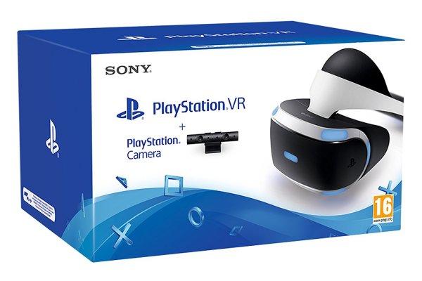 Playstation VR + neue PS4-Kamera mit Versand zum Release für 442,79€ oder nur Brille für 389,32€ [Amazon.it/es]