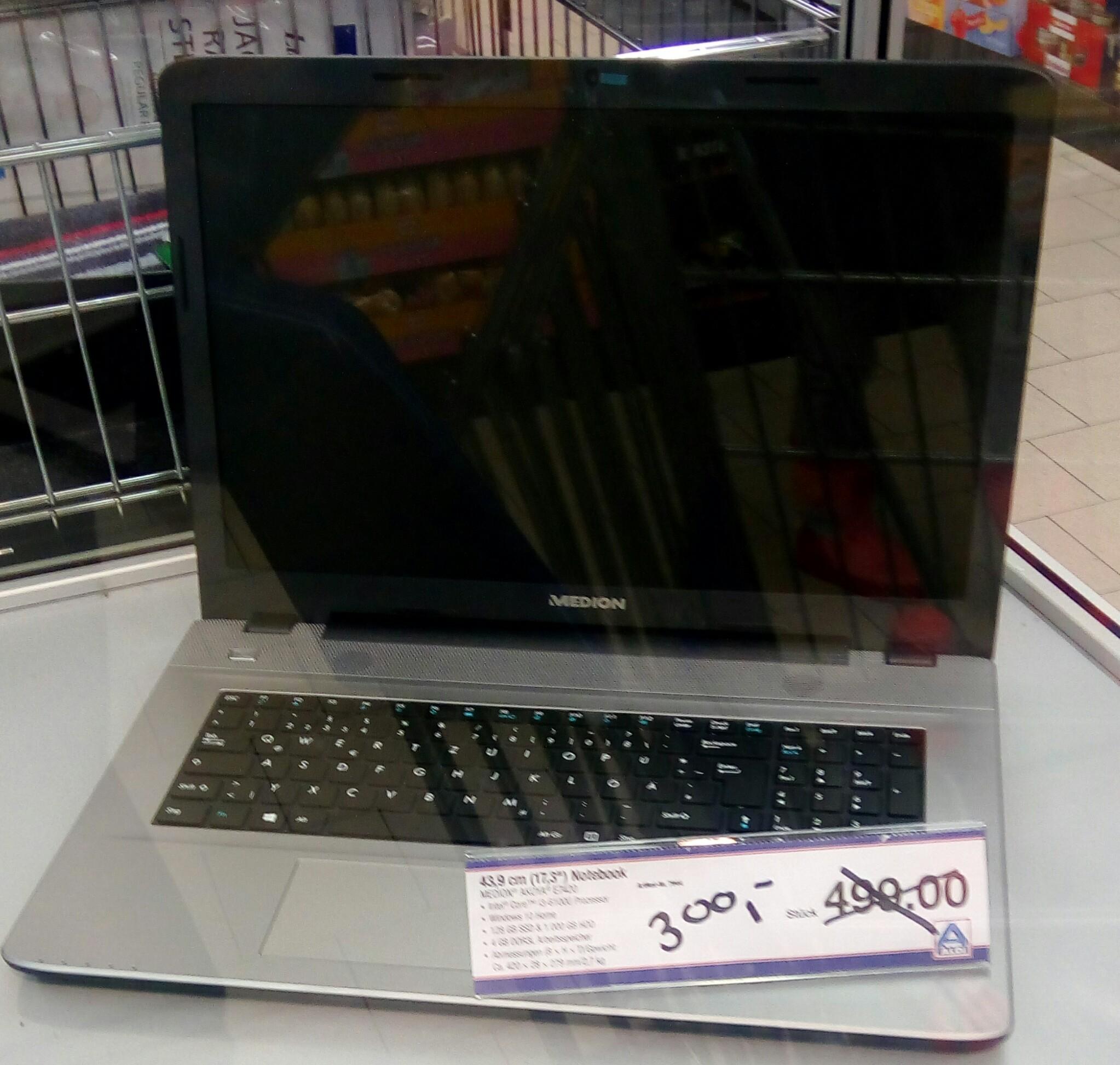 Abverkauf Notebook MEDION® AKOYA® E7420 (MD 99710) Aldi Nord Dabringhausen