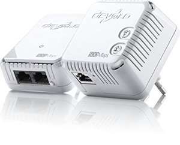 [Saturn Online Only Offers] Devolo dLAN 500 WiFi Starter Kit, WLAN aus jeder Steckdose (500 Mbit/s, 2 Adapter im Set, 1x LAN Port, Powerline WLAN, WLAN Repeater)