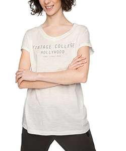 ESPRIT Sports Damen Casual Slub T-Shirt Gr. S für 5,16€