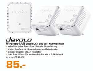 Lokal [Saturn Rheydt] DEVOLO 9090 DLAN 500 WIFI Network Kit 85 €, AVM 7490 Fritz!box 165€