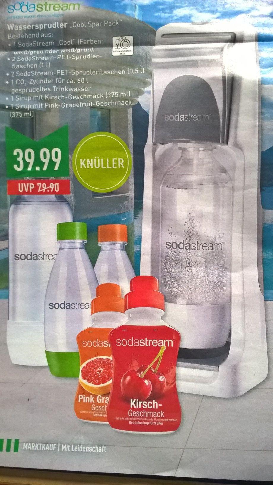 [Marktkauf - lokal NRW - siehe Liste] SodaStream Cool Spar Pack