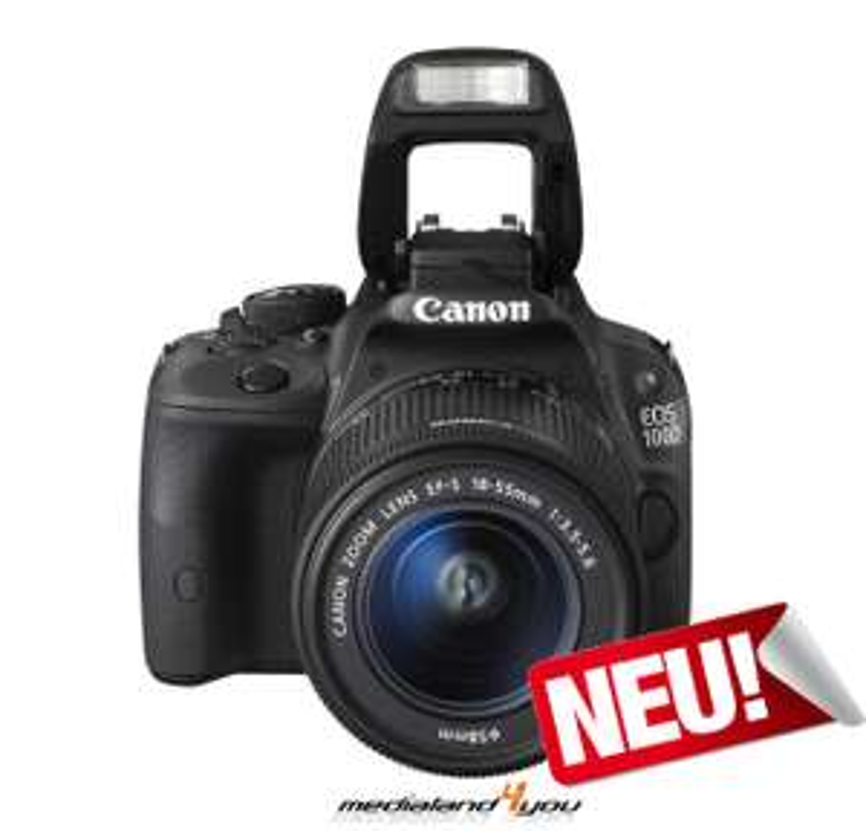 Canon EOS 100D + EF-S 18-55mm DCIII + 2x Akku + KFZ Ladegerät / 359,99€ [eBay]