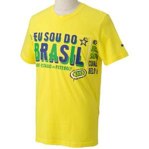[Amazon Plus] PUMA Herren Brasilien T-Shirt My Nation Tee M