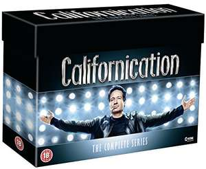 [Amazon.co.uk] Californication - Die komplette Serie (DVD) für 32,36€ inkl. VSK