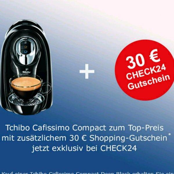 Tchibo Cafissimo Compact +30€ Shopping Gutschein