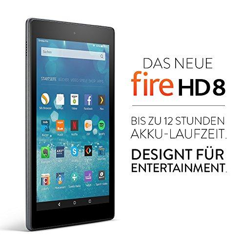 Amazon Fire HD 8 (neue Version = 2016) für 89,99€ [Amazon]