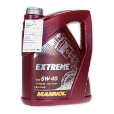 4 Liter Mannol SAE Extreme 5W-40 Motoröl für 11,95€ [Ebay]