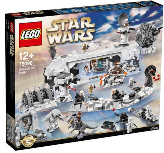 Und noch mal ab 20 Uhr: 15% Rabatt auf Spielwaren bei [GALERIA-Kaufhof] z.B. LEGO Star Wars Assault on Hoth 75098 für ca. 195,40€ statt 240€