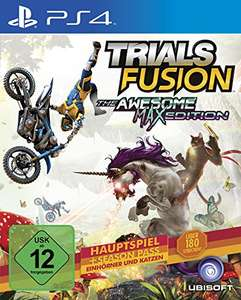 [Amazon] Trials Fusion- The Awesome Max Edition - PS4